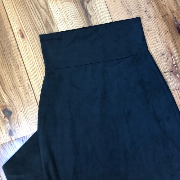 Maurices Dresses & Skirts - Extremely Soft Black Maxi Skirt